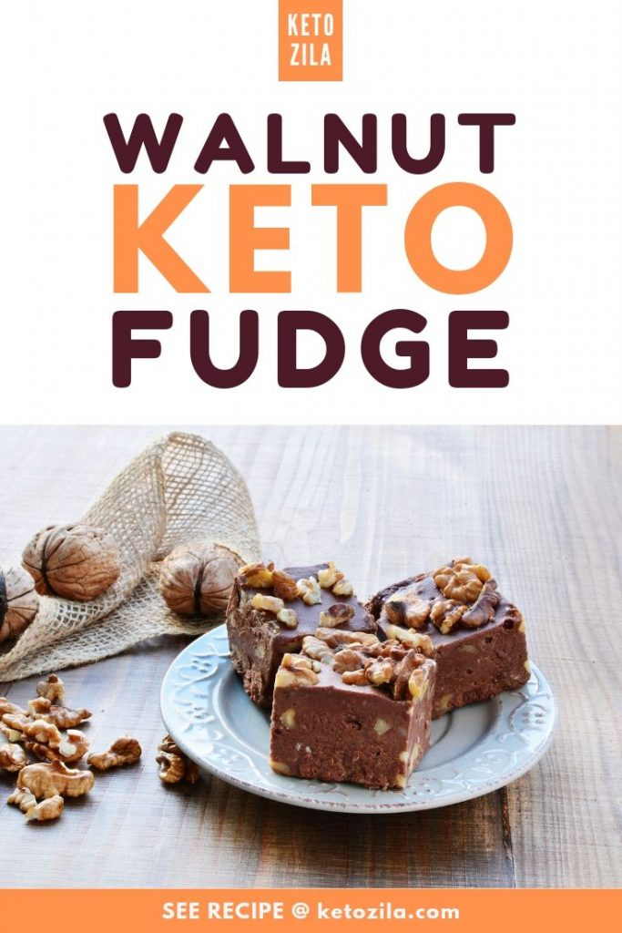 Chocolate & Walnut Keto Fudge - Easy, Guilt-Free, and Delicious