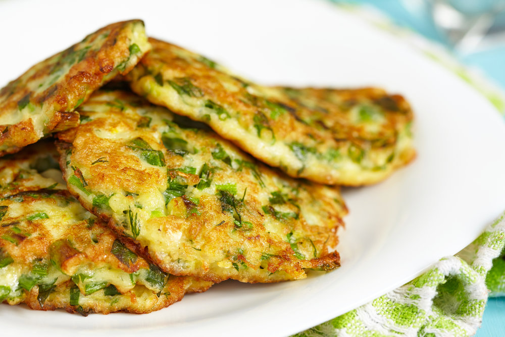 Keto Zucchini Fritters - Low-Carb & Gluten-Free