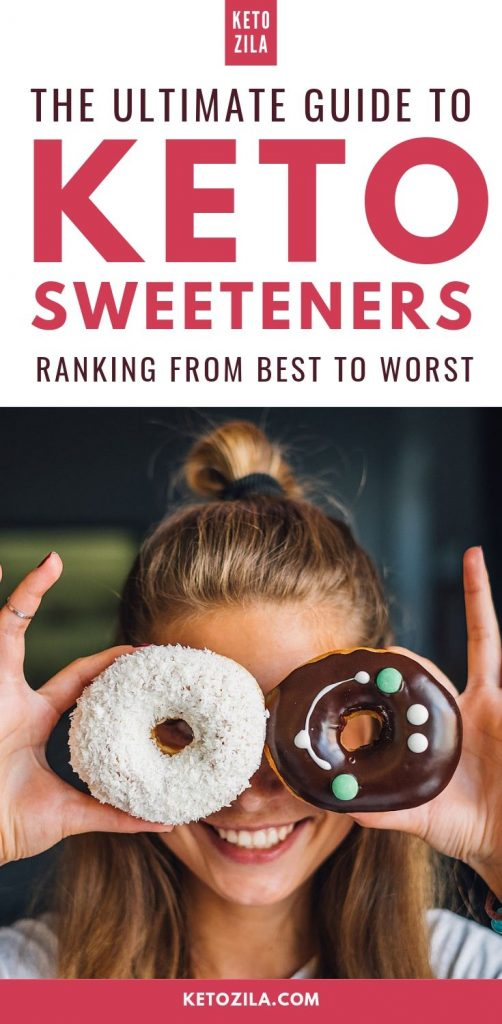 The Ultimate Guide To Keto Sweeteners - Ranking The Best and Worst