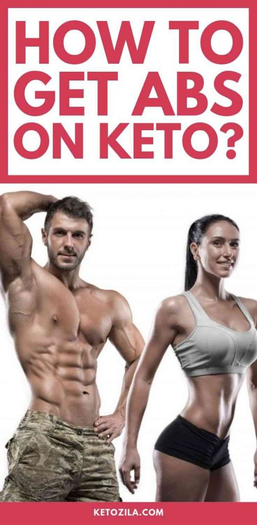 How to Get Six-Pack Abs On A Keto Diet Pin