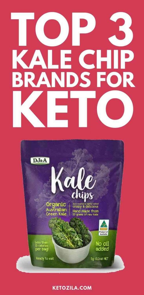3 Best Kale Chip Brands For Keto