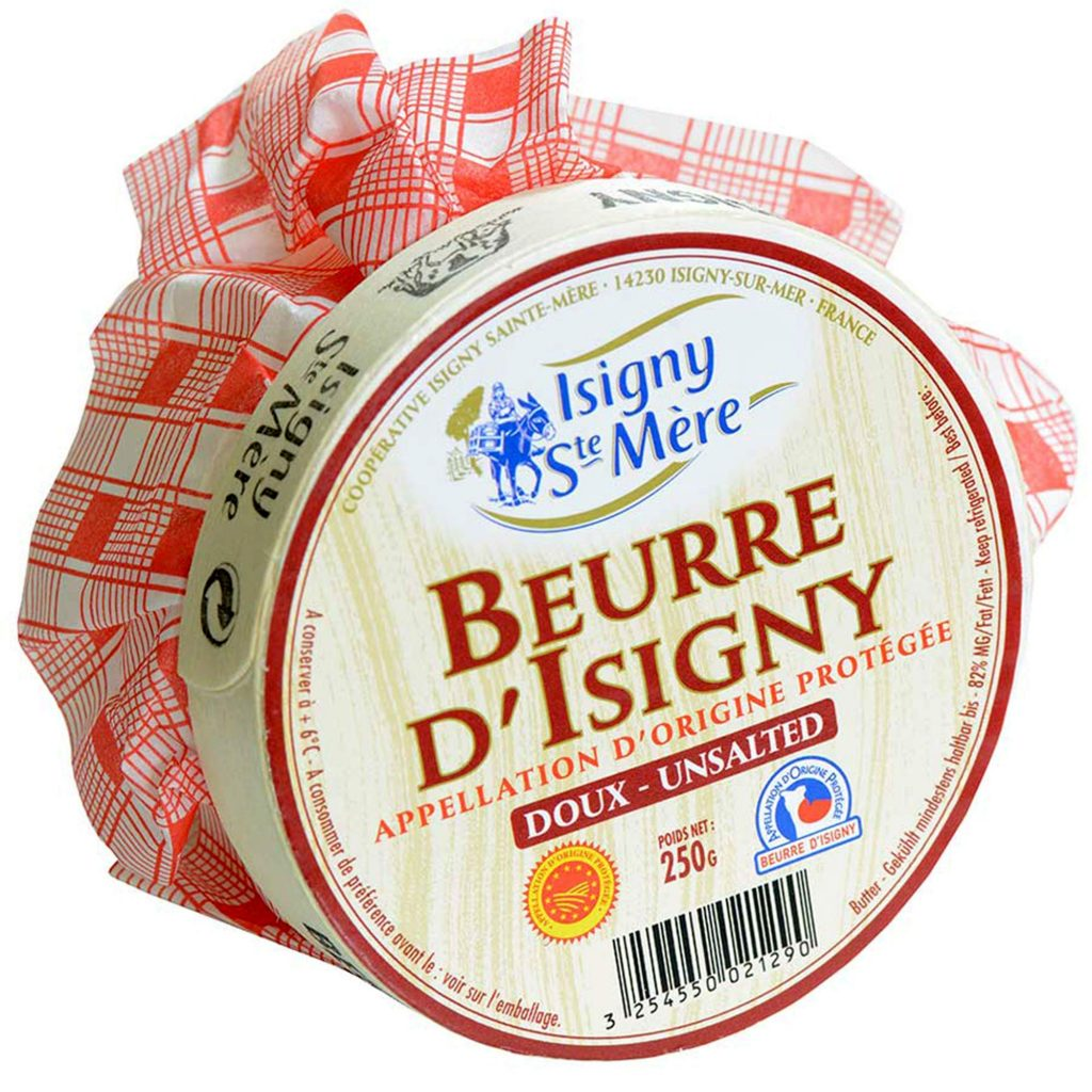 Beurre D'Isigny French Normandy Unsalted Butter