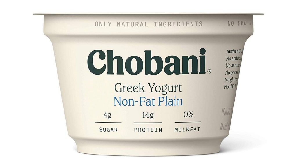 Chobani Non-Fat Greek Yogurt