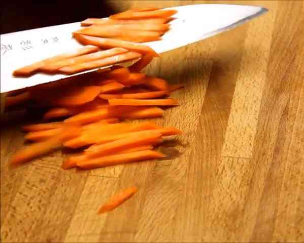 Step 3 Slice Carrots