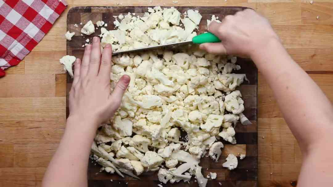 Step 3 - Chop Cauliflower