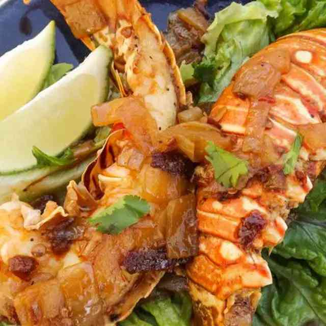 Chipotle Lobster Tails